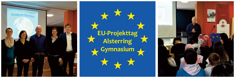EU-Projekttag am Alsterring Gymnasium mit Politiker Dr. Wieland Schinnenburg